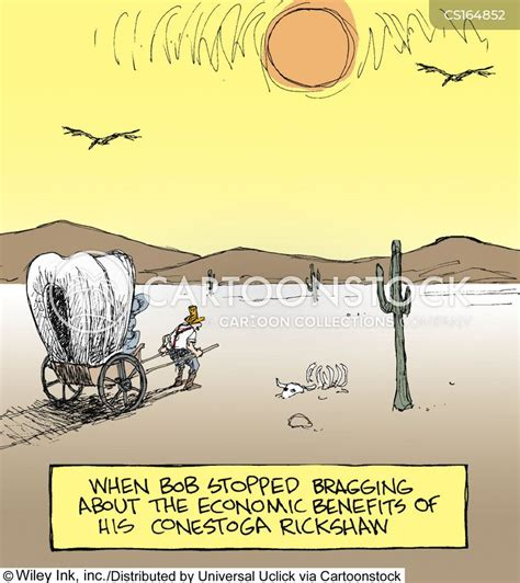 Covered Wagon Cartoons and Comics funny pictures from