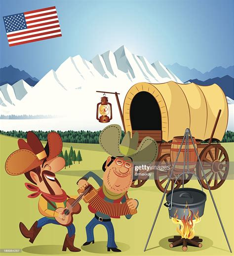 Covered Wagon Stock Images Royalty Free Images Vectors