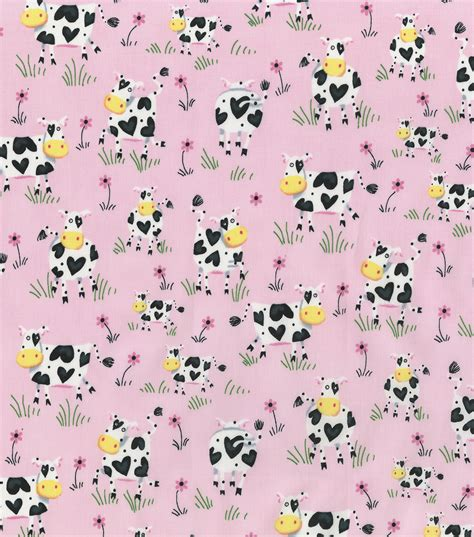 Cow Print Fabric Cow Pattern Fabric JOANN