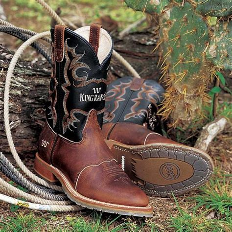 Cowboy Boots for Men King Ranch Saddle Shop