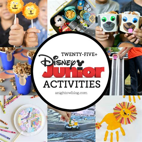 Crafts Activities Disney Junior