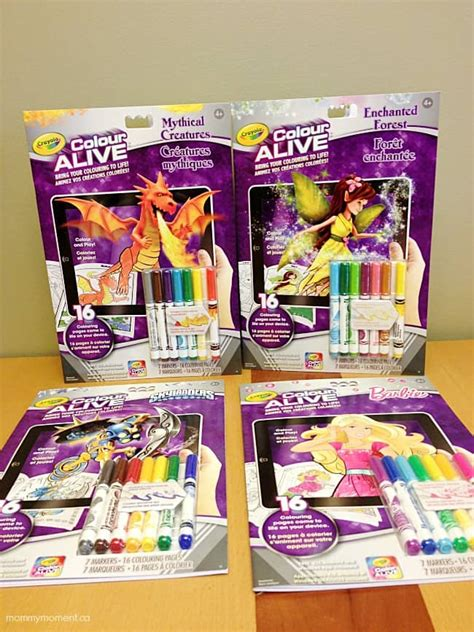 Crayola COLOR ALIVE Bring Your Coloring to Life