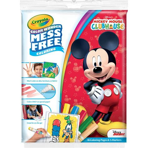 Crayola Color Wonder Coloring Kit Mickey Mouse