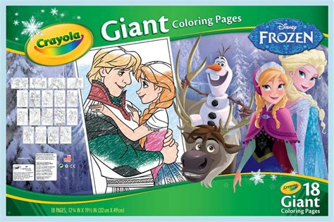 Crayola Giant Coloring Pages Frozen Target