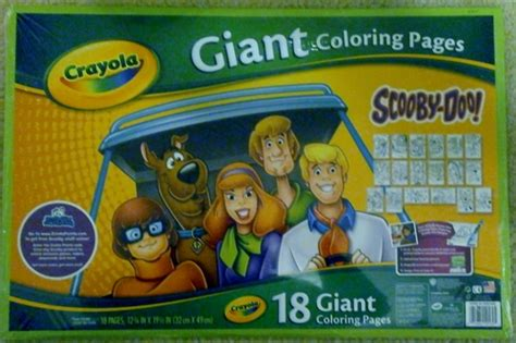 Crayola Scooby Doo Giant Coloring Pages amazon