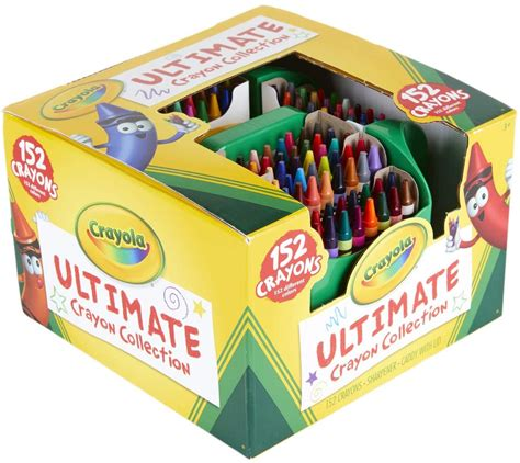 Crayola Ultimate Crayon Collection with Sharpener 152ct
