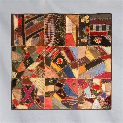 Crazy Quilts American Antique Unique Victorian Antique