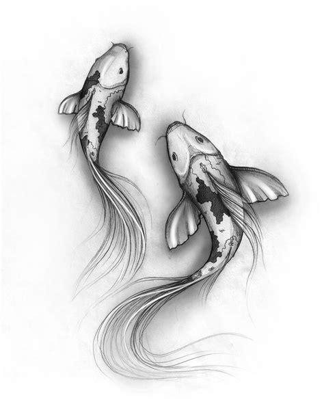 Create Koi Fish Drawings Drawing Pencil Sketches