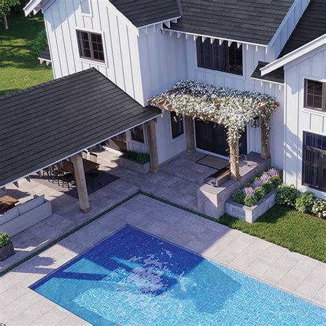 Create a Backyard Oasis Pool Tile Trends Daltile