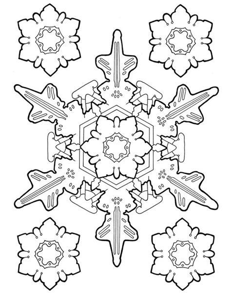 Creative Haven Snowflake Designs Coloring Book Dover