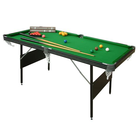 Crucible 2 In 1 Folding Snooker Pool Table Mightymast