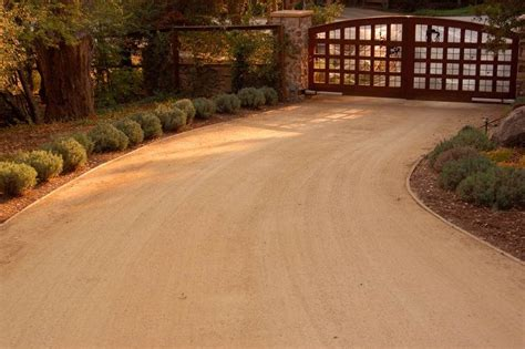 Crushed granite driveway issues Houzz