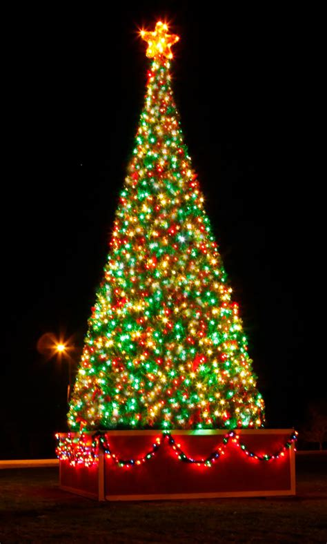 Crystal Valley Giant Artificial Christmas trees