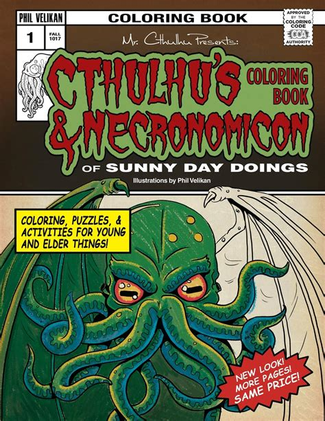 Cthulhu s Coloring Book and Necronomicon of Sunny Day