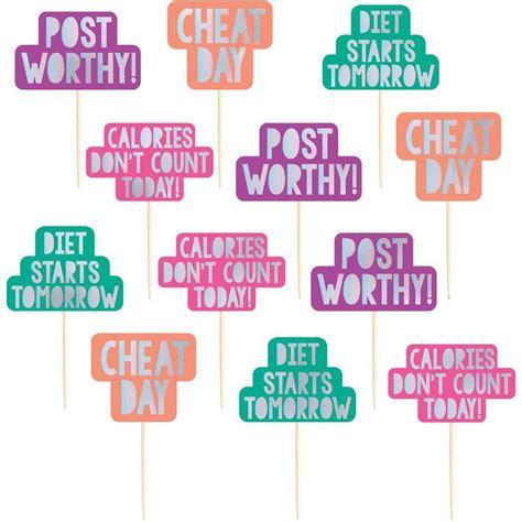 Cupcake Decorations Picks Party City