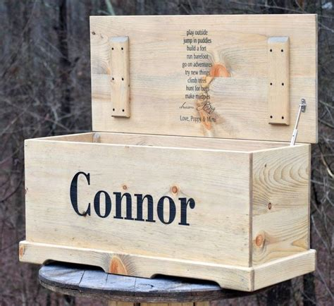 Custom Engraved Toy Boxes Made Easy Canadian Woodcraft