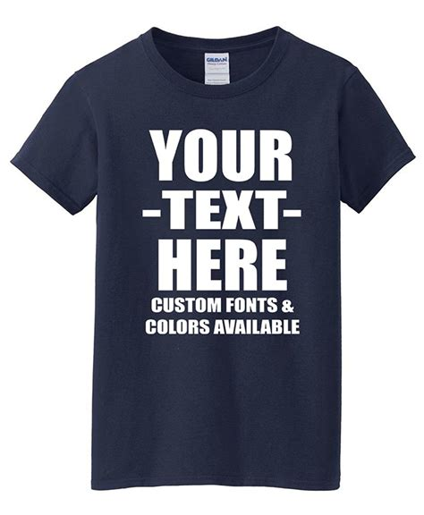 Custom T Shirts Personalized Tees Make Your Own