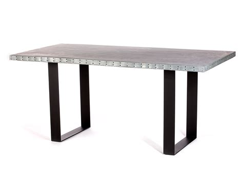 Custom Zinc Top Dining Tables Kingston Krafts