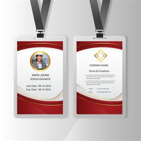Custom id badge templates Custom ID Card Designer