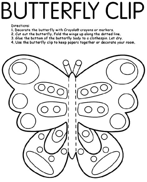 Cut and Color Free Coloring Pages crayola