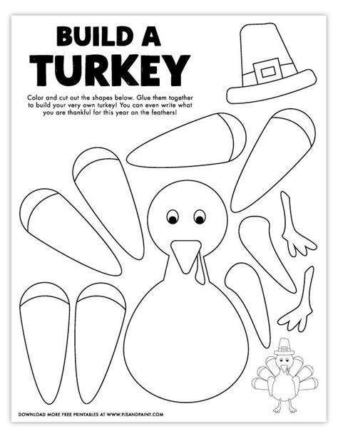 Cut and Color Printable Activities Coloring Pages
