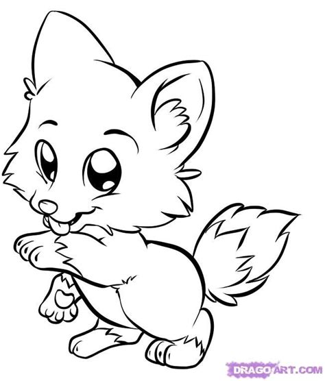 Cute Dolphin Coloring Pages Cute Anime Wolf Girl