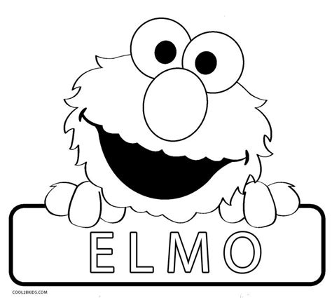 Cute Elmo Coloring Pages Free Printables MomJunction