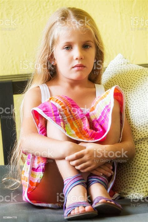 Cute Little Girl Stock Photos Images Royalty Free Cute