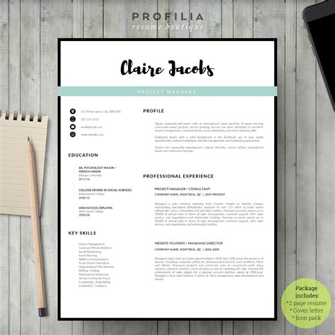 Cv Examples Creative Cv And Cover Letters On Pinterest
