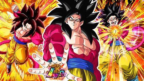 DBZ Dokkan Battle SSJ4 Goku Summons YouTube