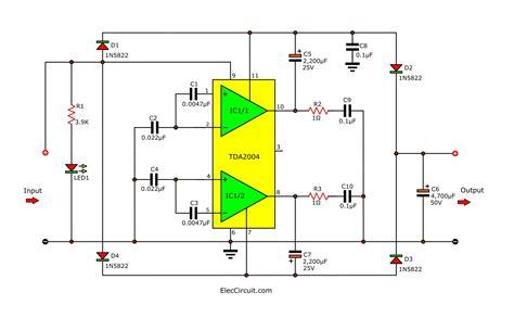 DC To DC Converter Circuit Diagram