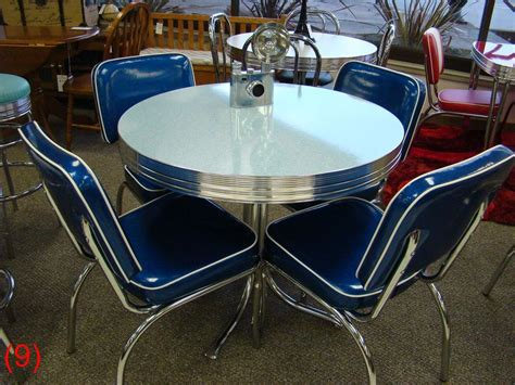 DINING KITCHEN RETRO TABLE CHAIRS