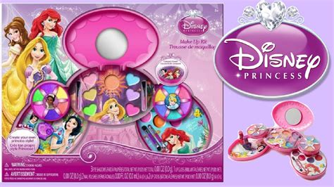 DISNEY PRINCESS MAKEUP KIT Toy Unboxing for Kids How to