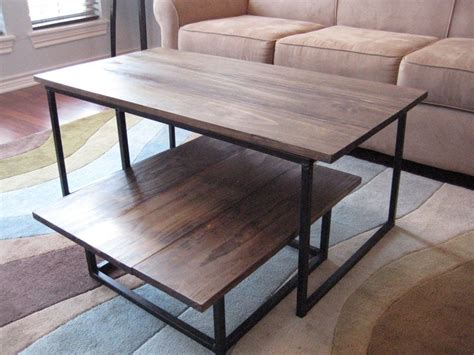 DIY 2 Tier Coffee Table 8 Steps with Pictures