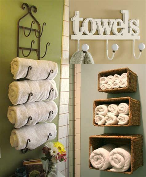 DIY Bathroom Towel Storage 7 Creative Ideas Decorating