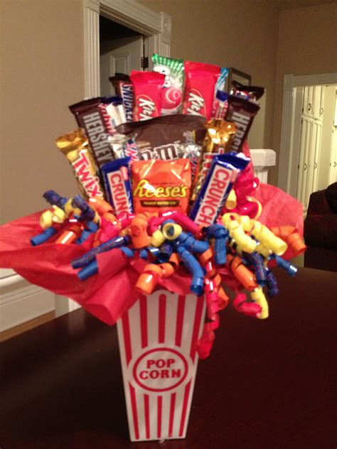 DIY Candy Bar Bouquets Do It Yourself Gift Ideas