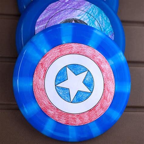 DIY Captain America Shield Free Printable Captain america