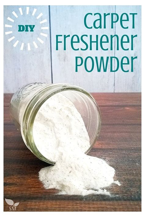 DIY Carpet Powder freshens cleans deodorizes AND