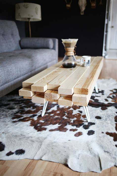 DIY Coffee Table Ideas Wood Coffee Table