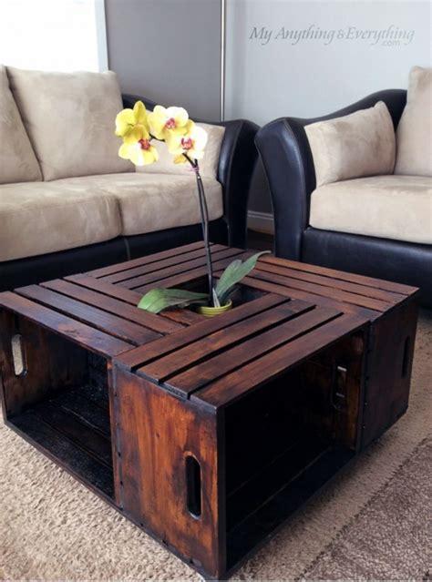 DIY Crate Coffee Table Hometalk