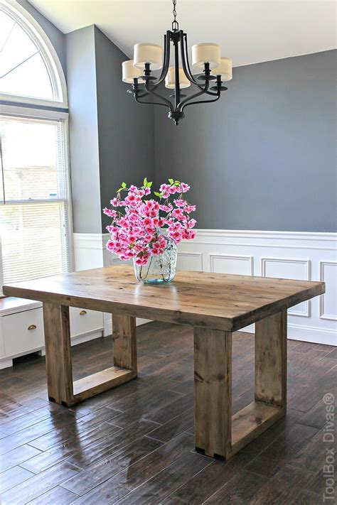 DIY Dining Table The House of Wood
