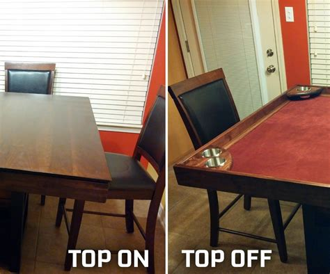 DIY Game Table Conversion 14 Steps with Pictures