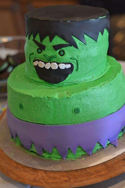 DIY Incredible Hulk Birthday Party see cate create
