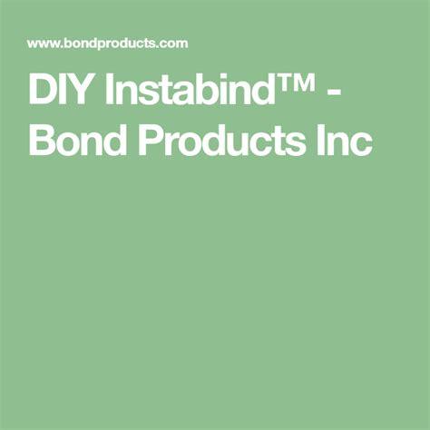DIY Instabind Bond Products Inc
