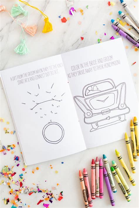 DIY Printable Wedding Activity Book Lovely Indeed