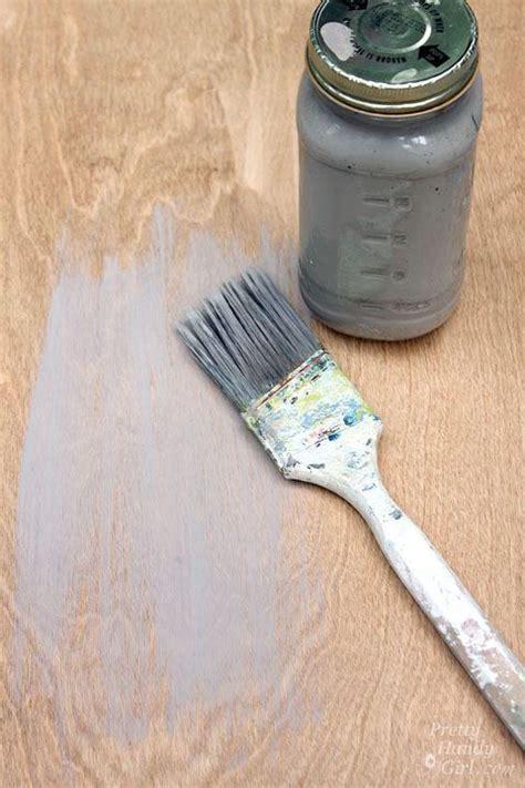 DIY Restoration Hardware Weathered Gray Stain Recipe