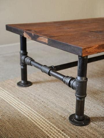 DIY Rustic Industrial Coffee Table DIY Cozy Home