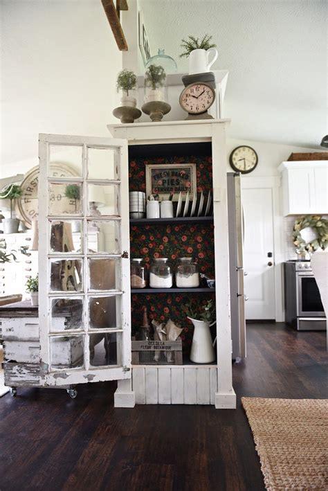 DIY Window Cabinet The White Cottage Farm