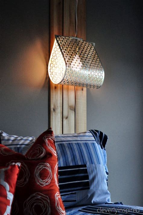 DIY light fixture do it yourself light Cleverly Inspired