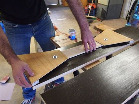 DIY your own stair tread gauge How to cut stair treads